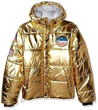 f003d3476abb Amazon.com  Champion Men s Metallic Puffer  Clothing
