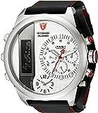 DETOMASO Herren-Armbanduhr Palermo Analog-Digital Quarz DT2052-B
