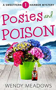 Posies and Poison (Sweetfern Harbor Mystery Book 1)