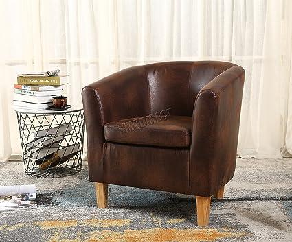 KMS FoxHunter - piel sintética sillón de comedor sala de ...