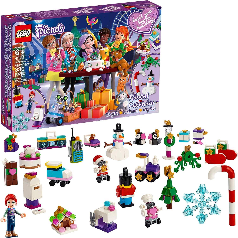 LEGO Friends Advent Calendar 41382 Building Kit, New 2019 (330 Pieces)