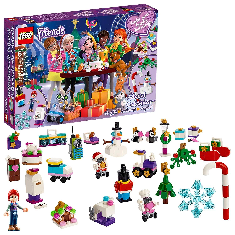 Calendrier Lego Friends 2019.Lego Friends Advent Calendar 41382 Building Kit New 2019 330 Pieces