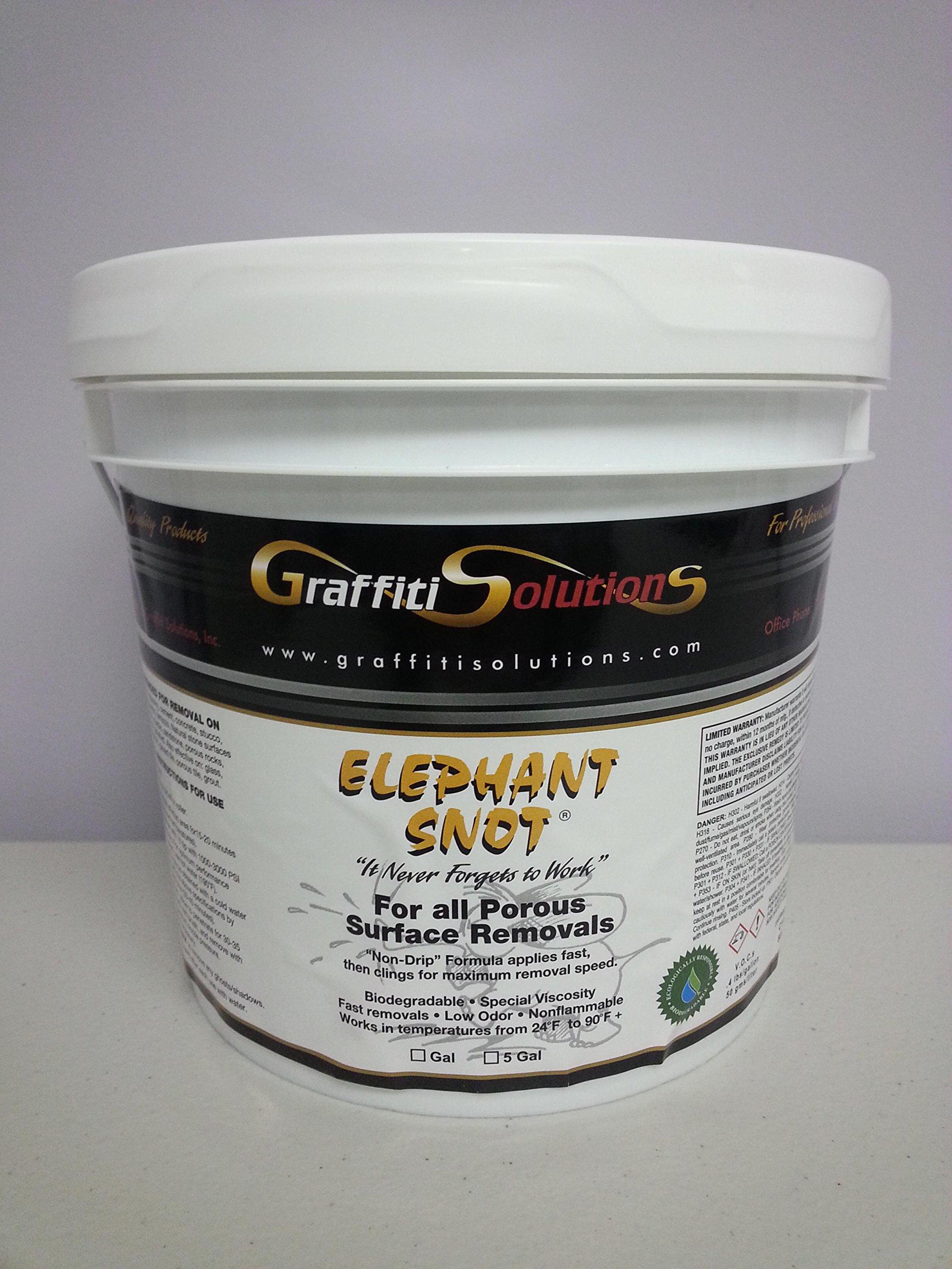 Elephant Snot Graffiti Remover - 1 Gallon