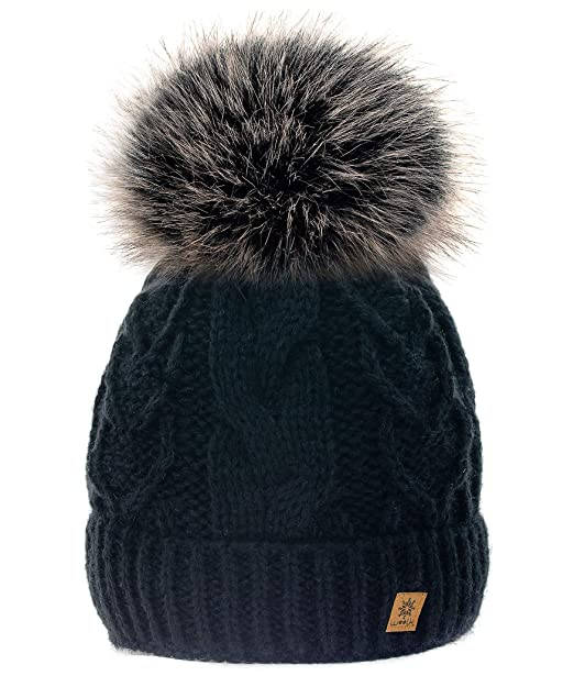 MFAZ Morefaz Ltd Personalised Beanie Hat Kids Adult Size Boy Girl Hats Alphabet Letters School Men Women
