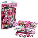 LOL Surprise! Set Papelería para Niñas Muñecas LOL Kit Cole para Niñas Material Escolar Edición Limitada