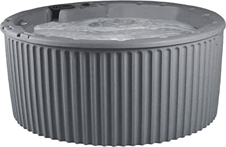 Essential Hot Tubs 20-Jet 2020 Arbor Hot Tub, Seats 5-7, Gray Granite