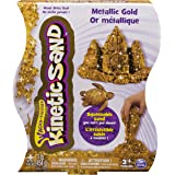 Kinetic Sand 6026733 - Sabbia Modellabile Confezione Effetto Metallico, Colori Assortiti