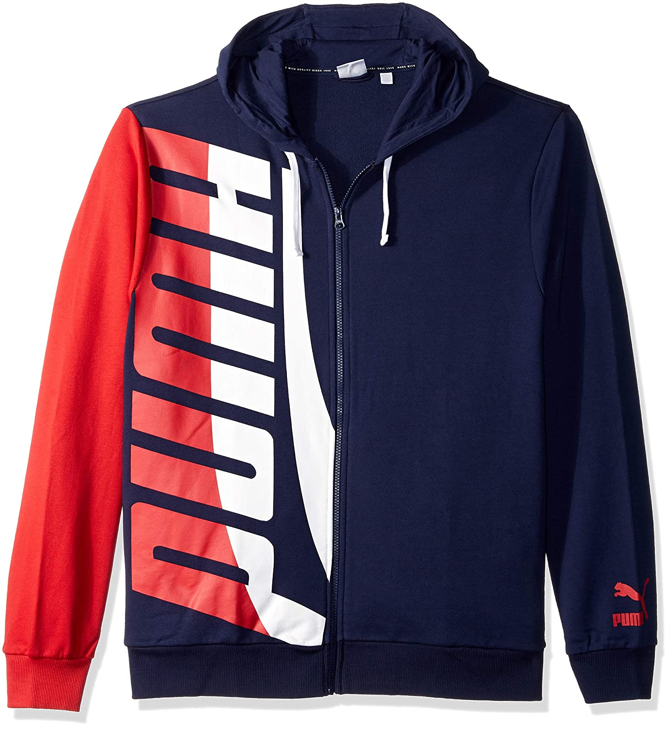 PUMA Mens Loud Pack Full Zip Hoodie