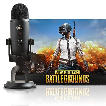 Amazon Com Blue Yeti Blackout Playerunknown S Battlegrounds
