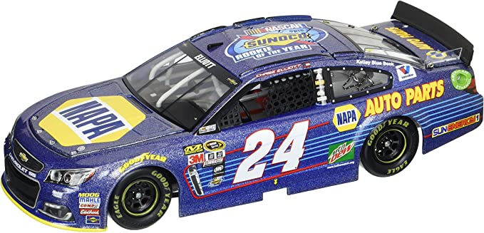 ROOKIE NASCAR 2016 CHASE ELLIOTT # 24 NAPA AUTO PARTS 1//64 CAR