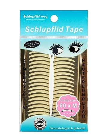 """Schlupflid Tape """"Pretty Size"""" (M) - Augenlidliftig Ohne Op [60Paar"""