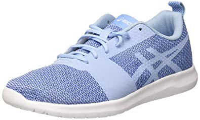 Asics Women's Kanmei Gymnastics Shoes, Blue (Airy Blue/Airy Blue/Regatta Blue), 7 UK