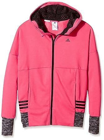 ADIDAS 3S FZ Hoody Damen Sweatjacke Trainingsjacke Kapuzen