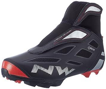 Zapatillas Northwave Celsius 2 GTX Negro-Rojo 2016: Amazon.es: Deportes y aire libre