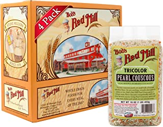 product image for Bob's Red Mill Tri Color Pearl Couscous, 16 Ounce (Pack of 4)