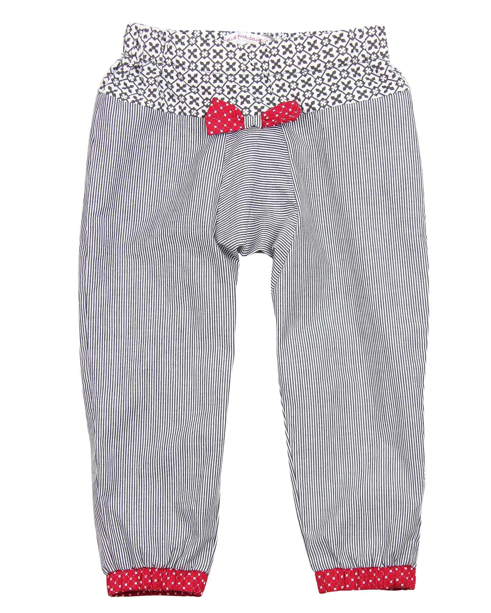 Deux par Deux Girls' Sarouel Pants Doxie Love, Sizes 18M-6 (3)