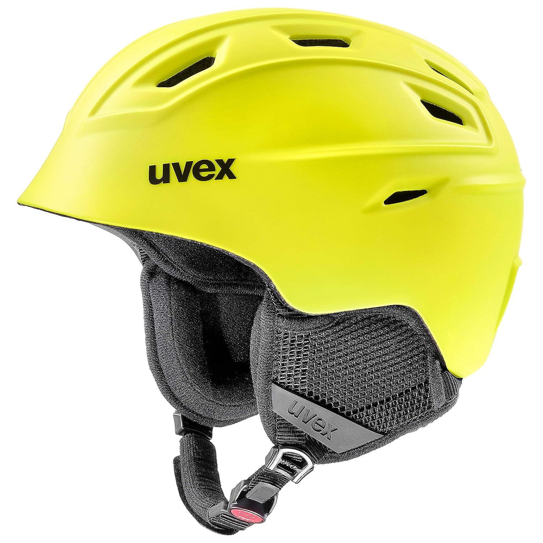 unisex Casco da sci Uvex Fierce 55-59 cm colore: Giallo