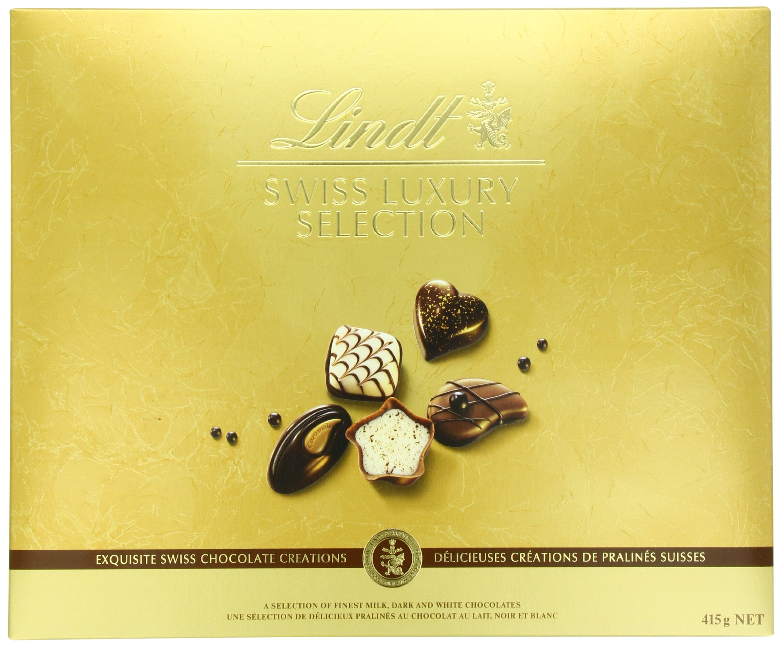 Lindt Swiss Luxury Selection, Assorted Chocolate, 14.6 Ounce Box