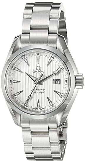 Omega Mujer 231.10.30.61.02.001 Aqua Terra Plata Dial reloj