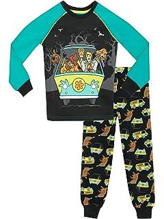 Scooby Doo - Pijama para Niños Ajuste Ceñido