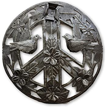 Amazon Its Cactus Metal Art Haiti Peace Sign Haitian Metal