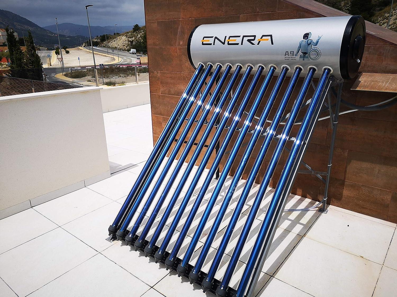 Calentador de agua solar para ACS (termosifón), HEAT PIPE ...