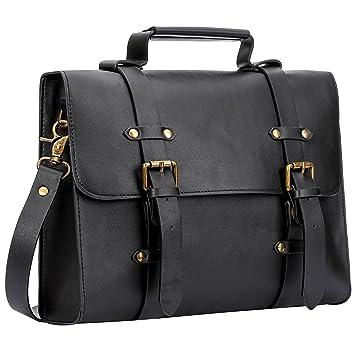 reasonably priced on feet images of great prices Women Ladies Laptop Bag Briefcase Crossbody Messenger Bags Satchel Purse  Handbag (12.2 inch, Black)