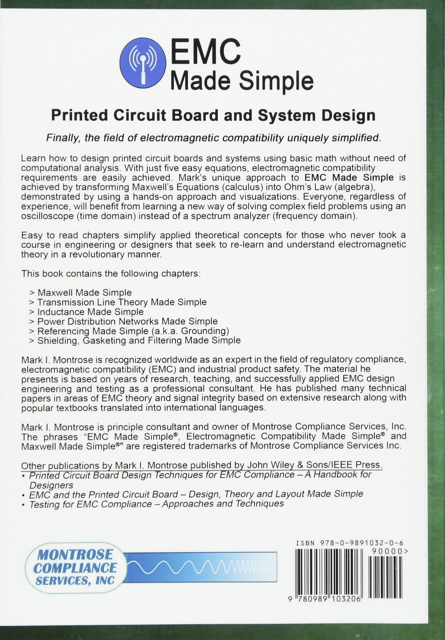 Emc Made Simple Printed Circuit Board And System Design Paper Mark I Montrose Fremdsprachige Bcher