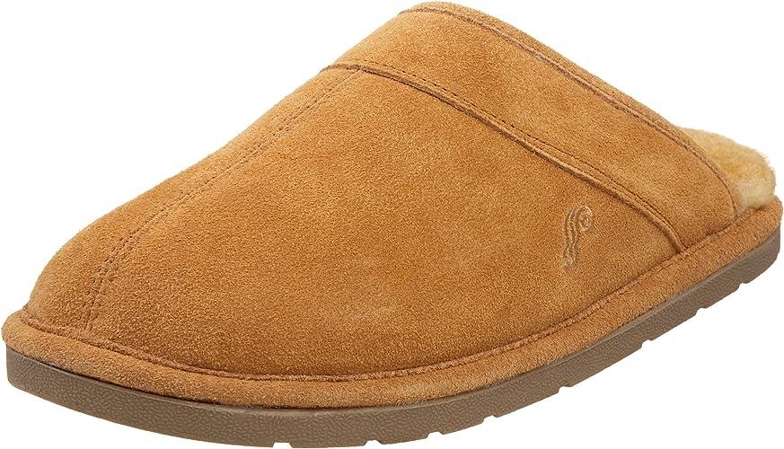 Lamo Men's Romeo Slip On Loafer, Shoes, Suede, Chestnut