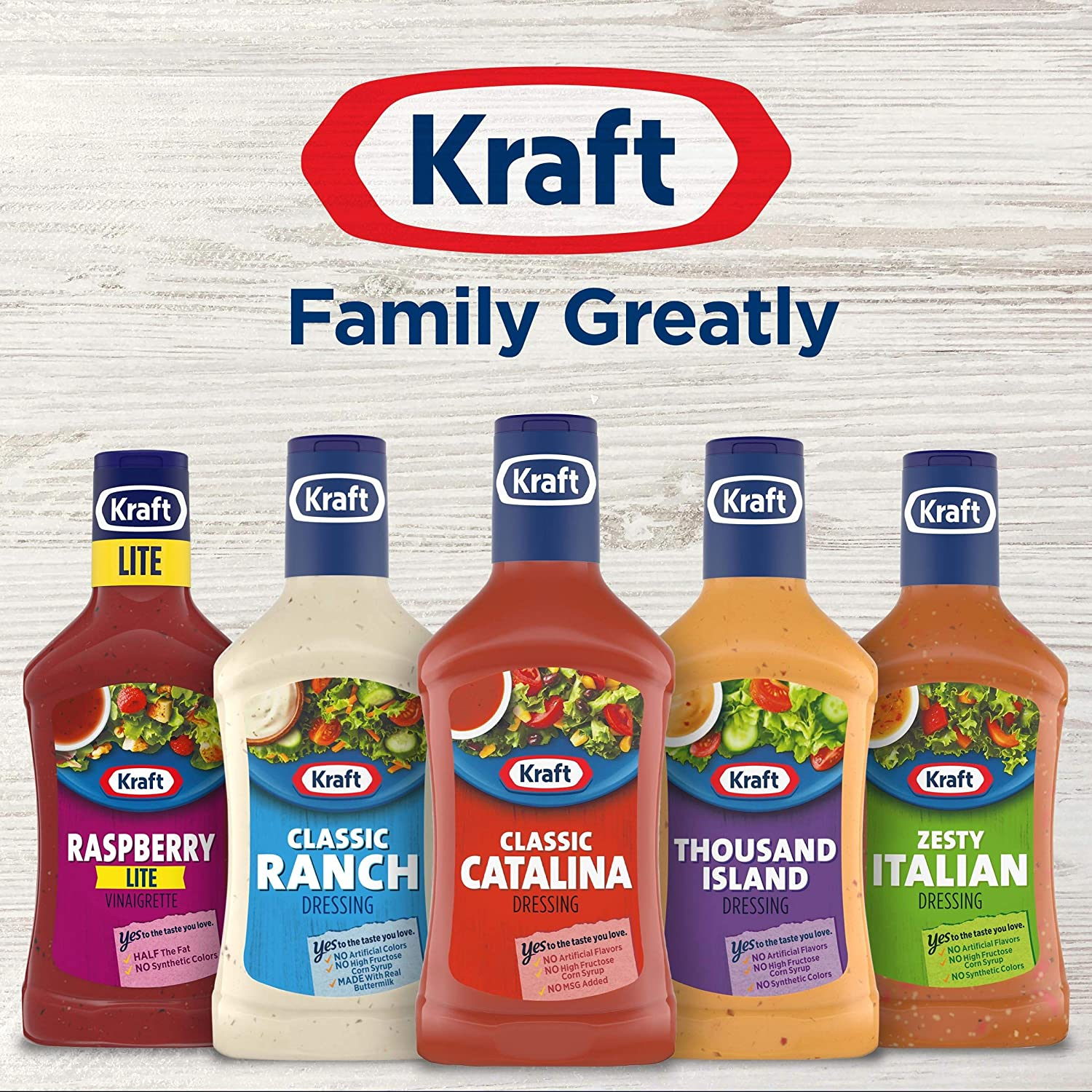 Amazon Com Kraft Classic Catalina Salad Dressing 16 Fl Oz Bottle Grocery Gourmet Food
