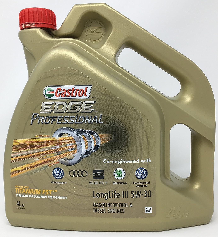Castrol CAEP5304 Aceite para Motor Edge Professional 5W30 4 litros: Amazon.es: Coche y moto