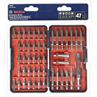 Bosch T4047 Multi-Size Screwdriver Bit Set (47 Piece)
