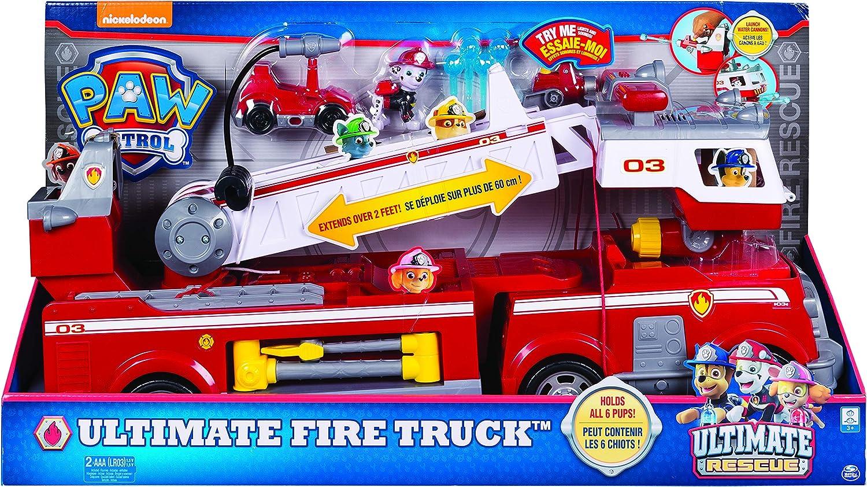 Paw Patrol Ultimate Rescue Fire Truck vehículo de juguete - Versión IMPORTADA , color/modelo surtido