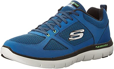 Skechers Herren Flex Advantage 2.0 Outdoor Fitnessschuhe Blau