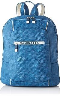 CAMINATTA Mochila S1006 Arenas Talla: U Color: AZUL: Amazon ...