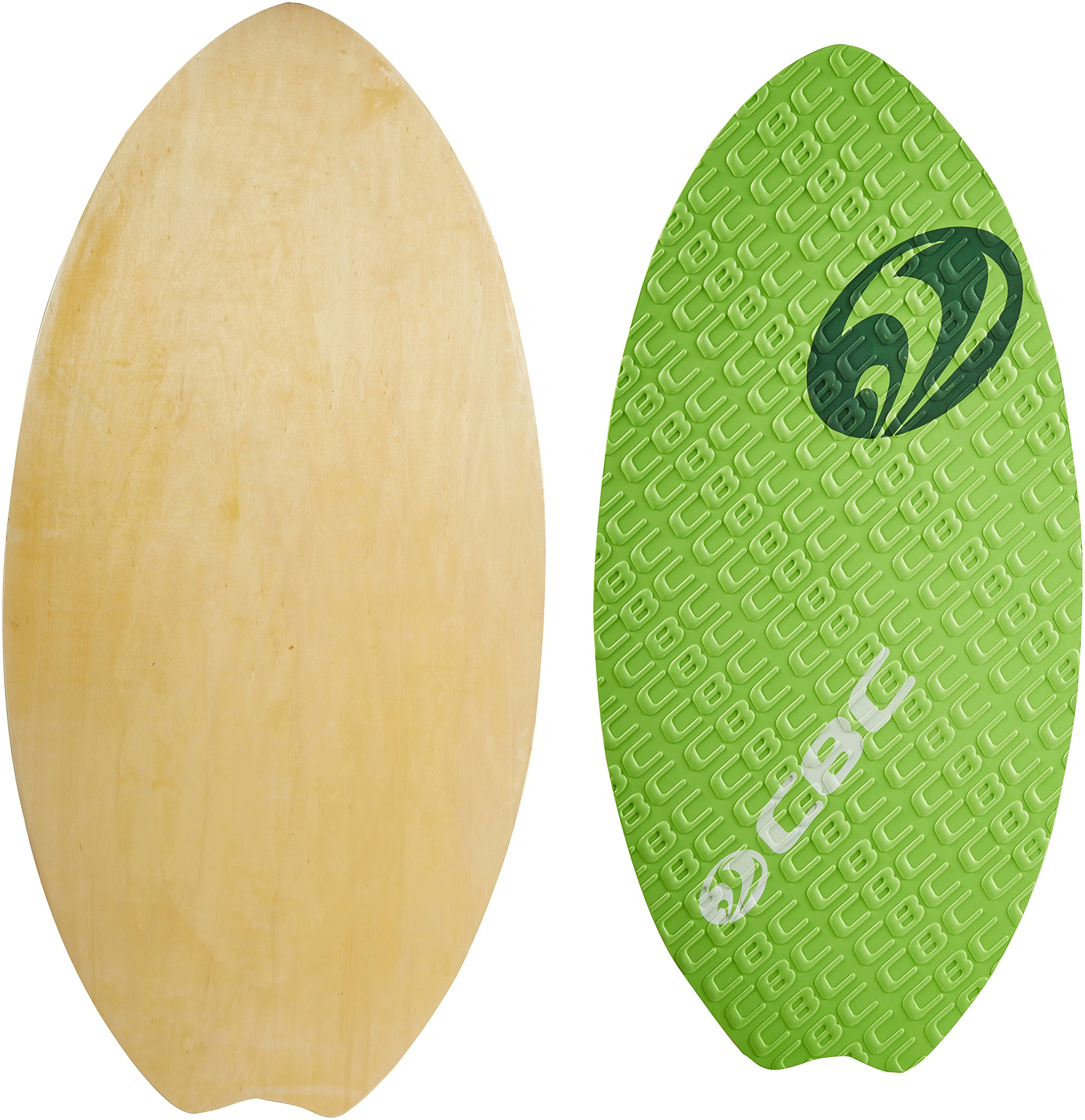 CBC Foot Grabber 41in  Wood Skimboard with Traction