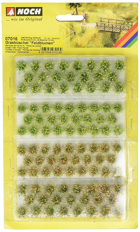 NOCH 07016 - Spielwaren, Grasbüschel Feldblumen Grasbüschel Feldblumen