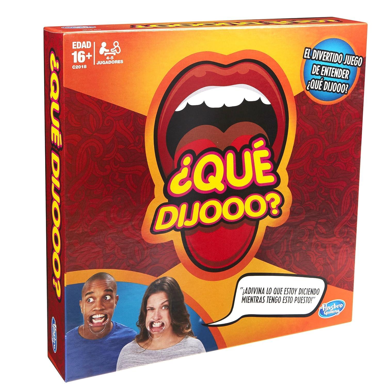 Hasbro Gaming Juego Que Dijooo Amazon Com Mx Juegos Y Juguetes