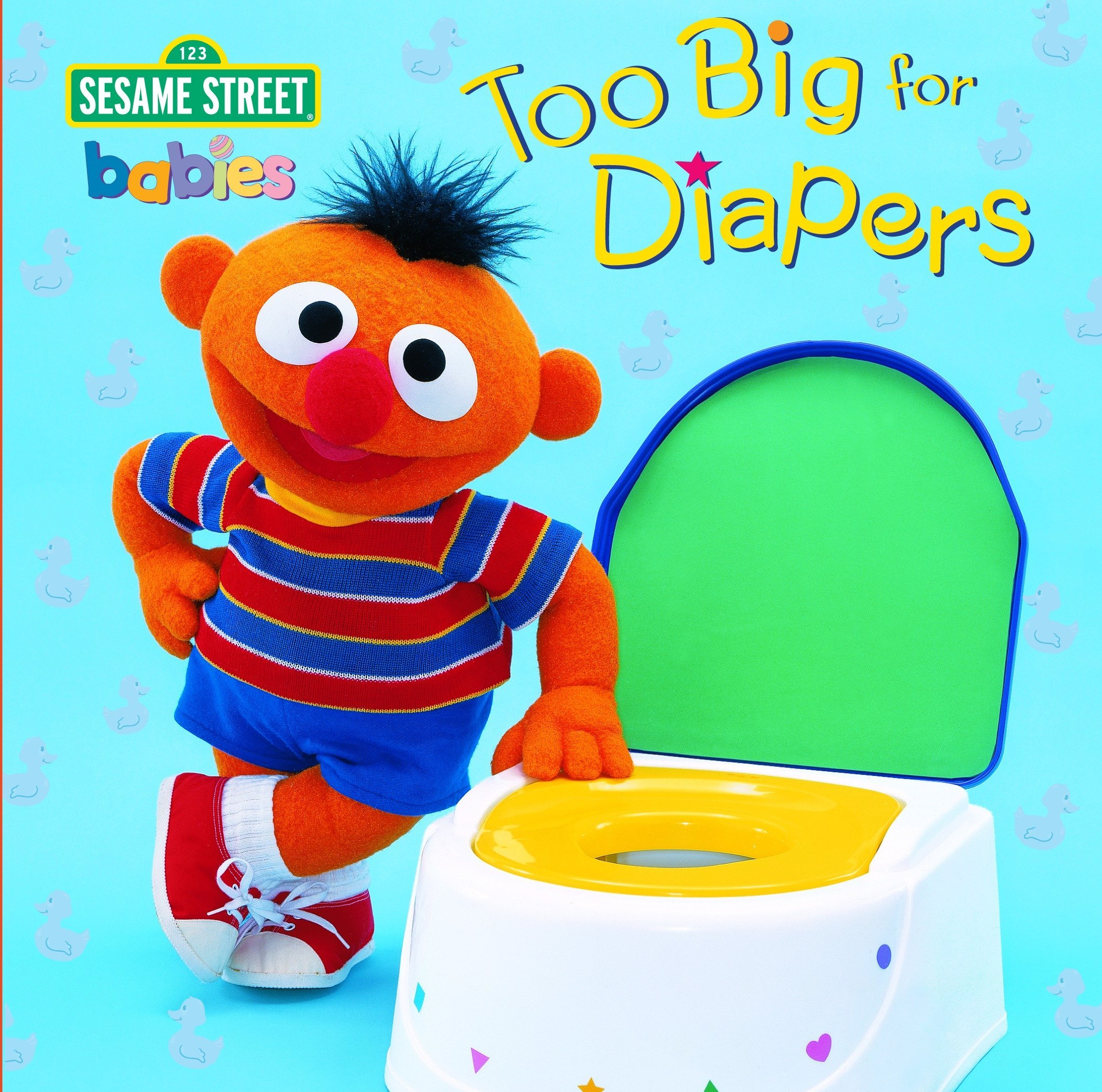 Too Big for Diapers (Sesame Street) (Too Big Board Books