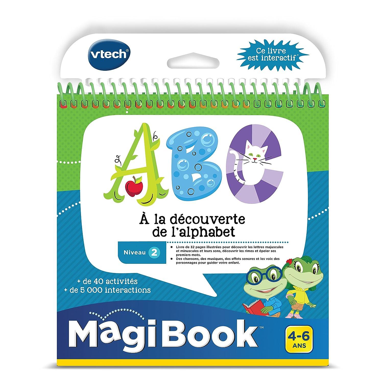VTech - 480605 - Magibook - ABC à la Découverte de l'Alphabet