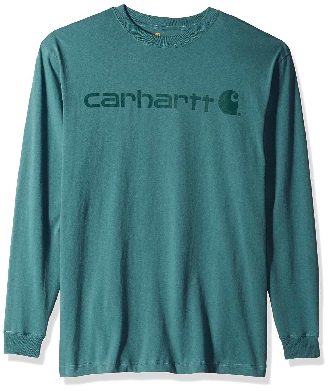 Carhartt SHIRT メンズ B06W2NPHJ8 3L|ブルー/グリーン ブルー/グリーン 3L