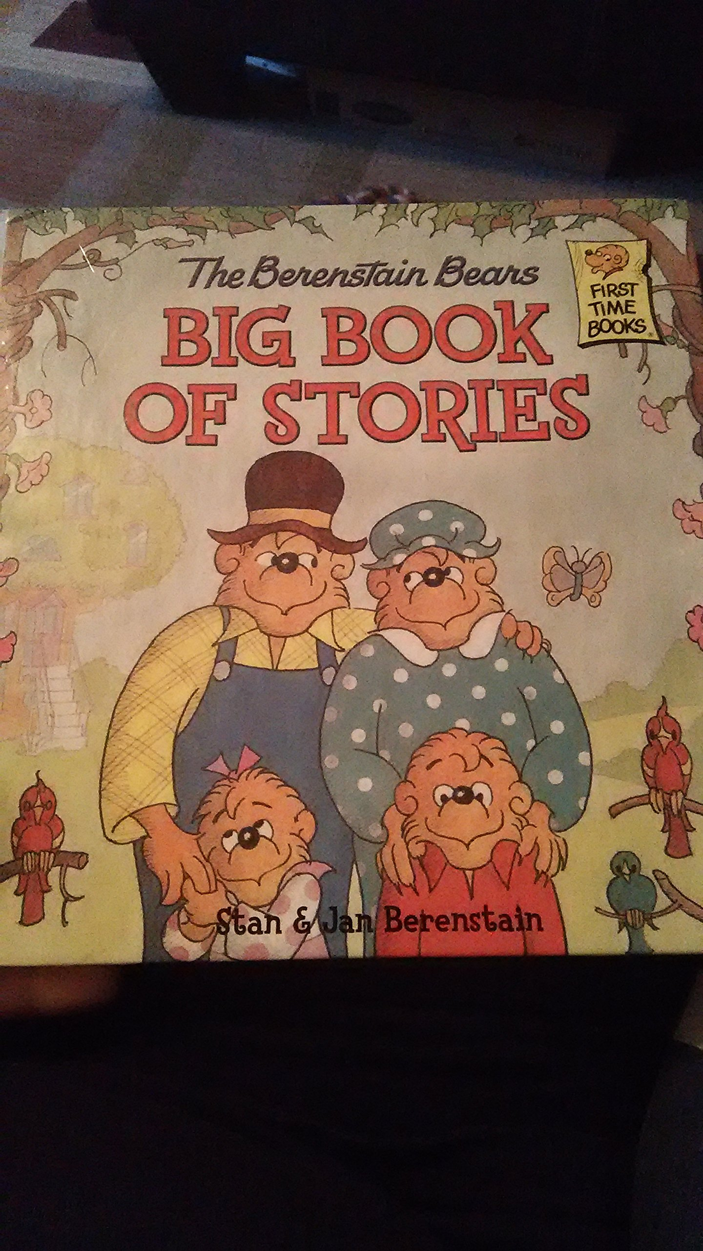 Read Online The Berenstain Bears Big Book of Stories (First Time Books) (First Time Books) pdf epub