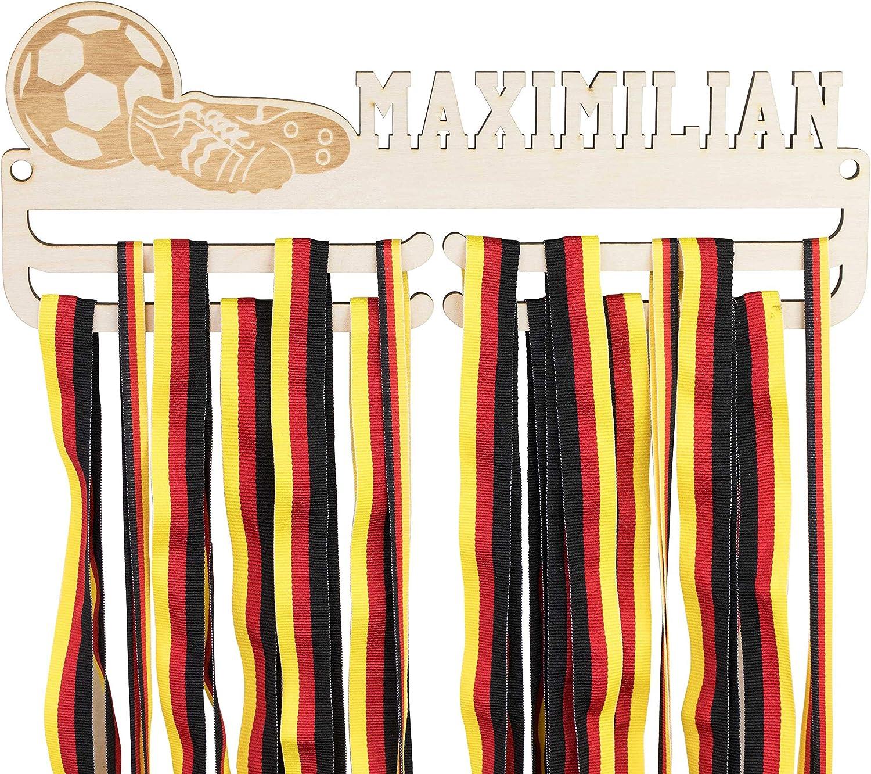 Metall Medaillenhalter Medaillen Aufhänger Display Geschenk Swimming Fußball  /<