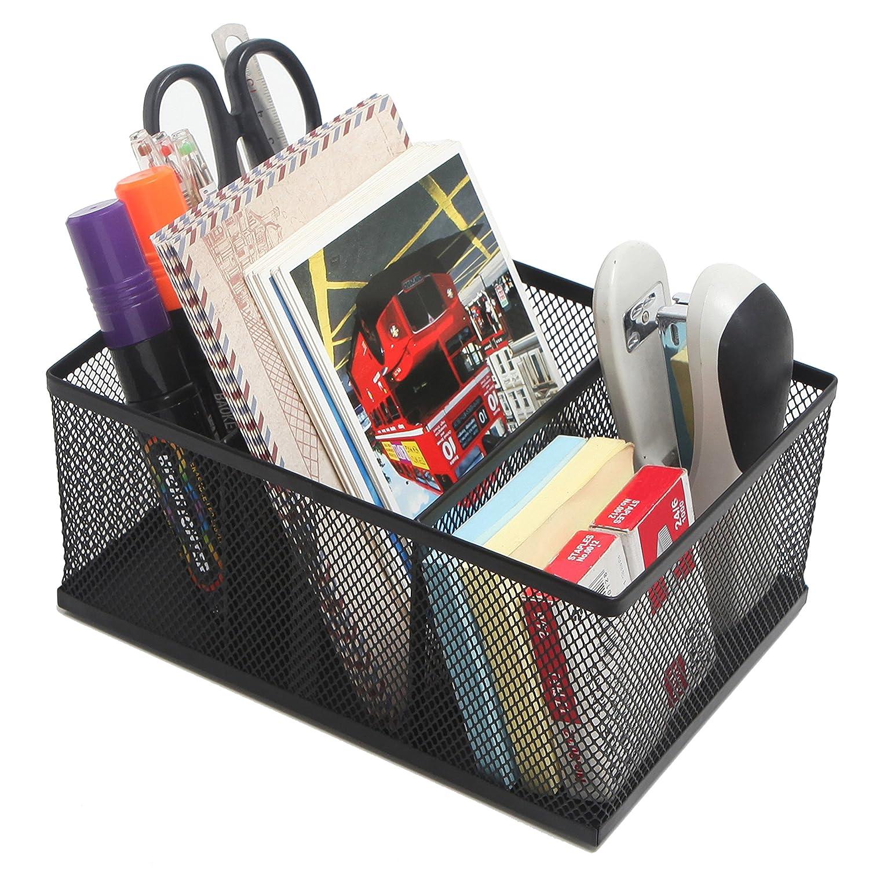 Rectangular Compartment Supplies Storage Organizer Image 3