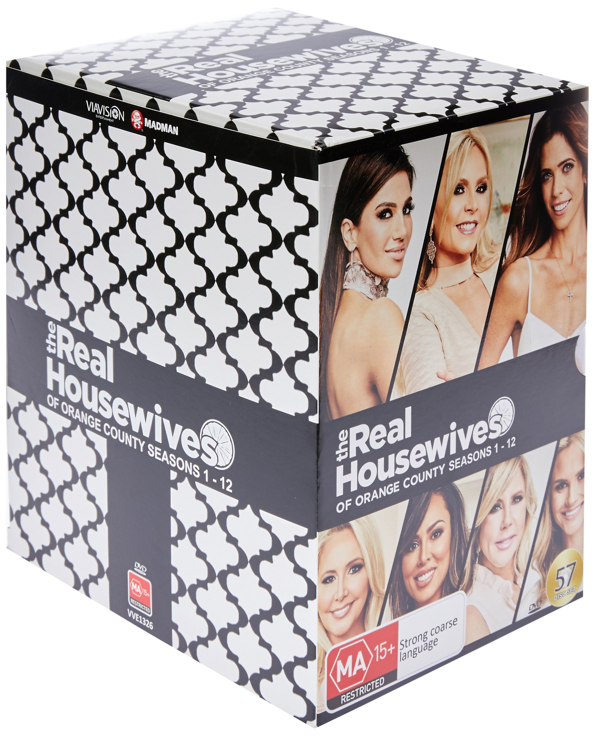 DVD : Real Housewives Of Orange County: Seasons 1-12 (Boxed Set, Australia - Import, NTSC Region 0, 52PC)