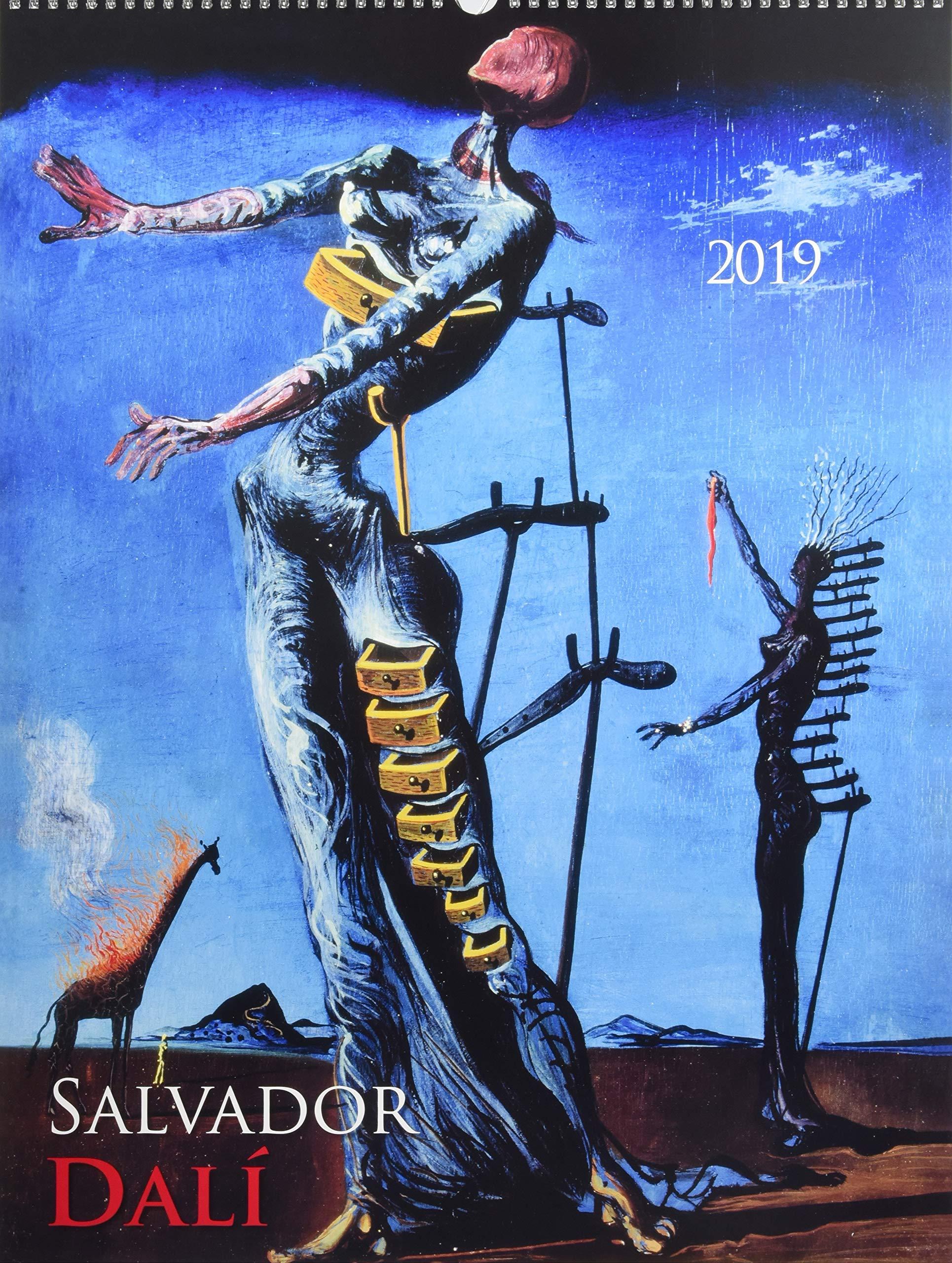 Salvador Dali 2019 - Bildkalender (42 x 56) - Kunstkalender Kalender – Posterkalender, Wandkalender ALPHA EDITION 3840794129 19.0412 Bildende Kunst