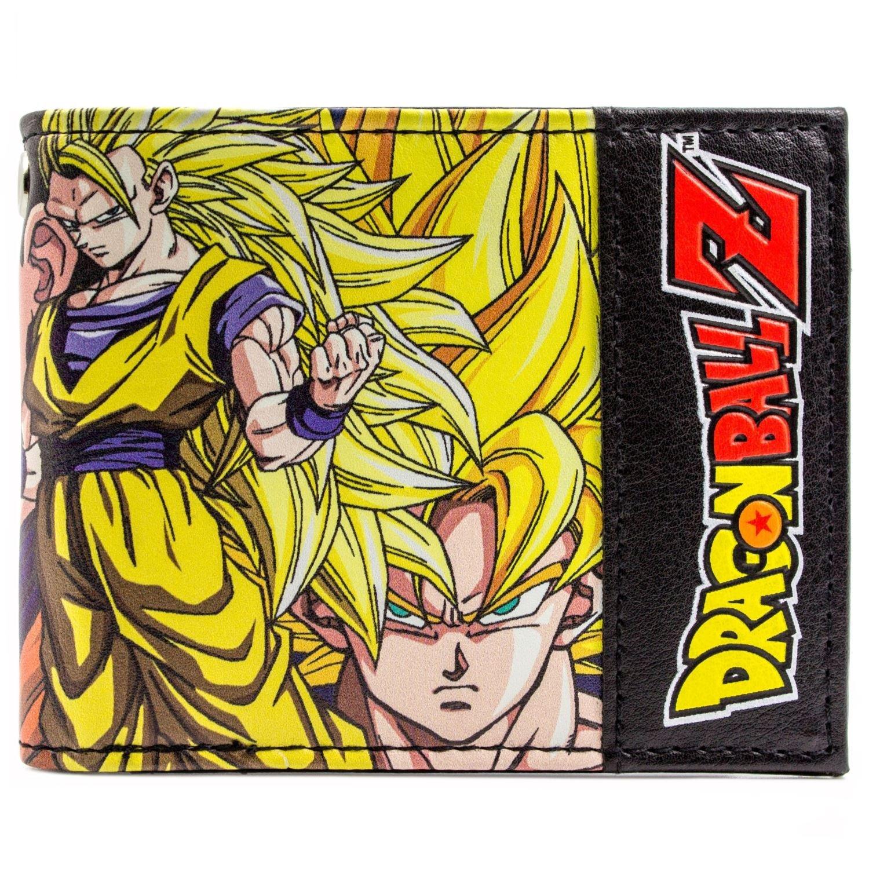 Toei Dragonball Z Goku et Vegeta Jaune Portefeuille 28212