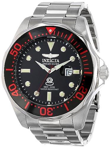 Invicta Men s INVICTA-14652 Pro Diver Analog Display Swiss Quartz Silver Watch