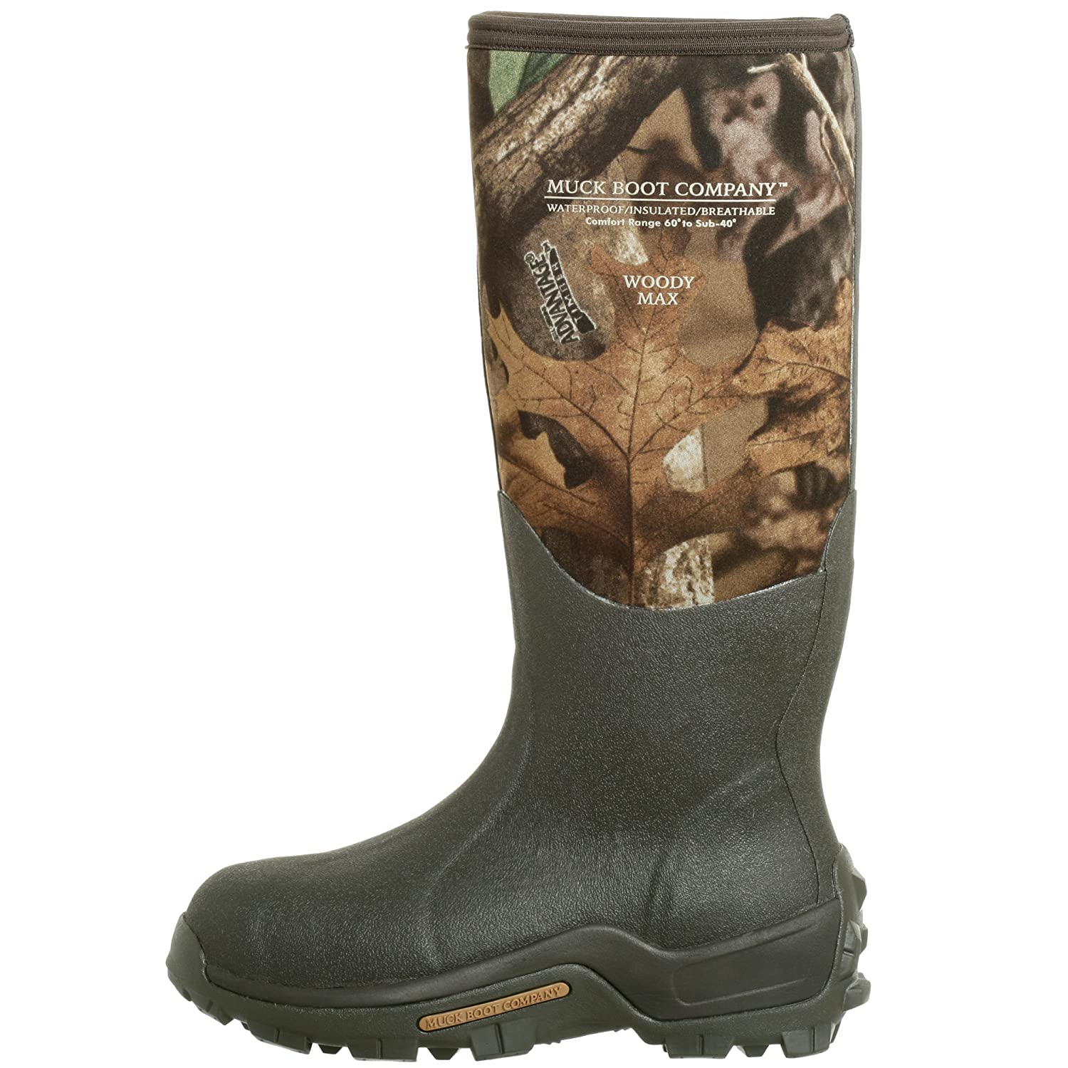 f773fd97800 Muck Boot Unisex Woody Sport Hunting Boot