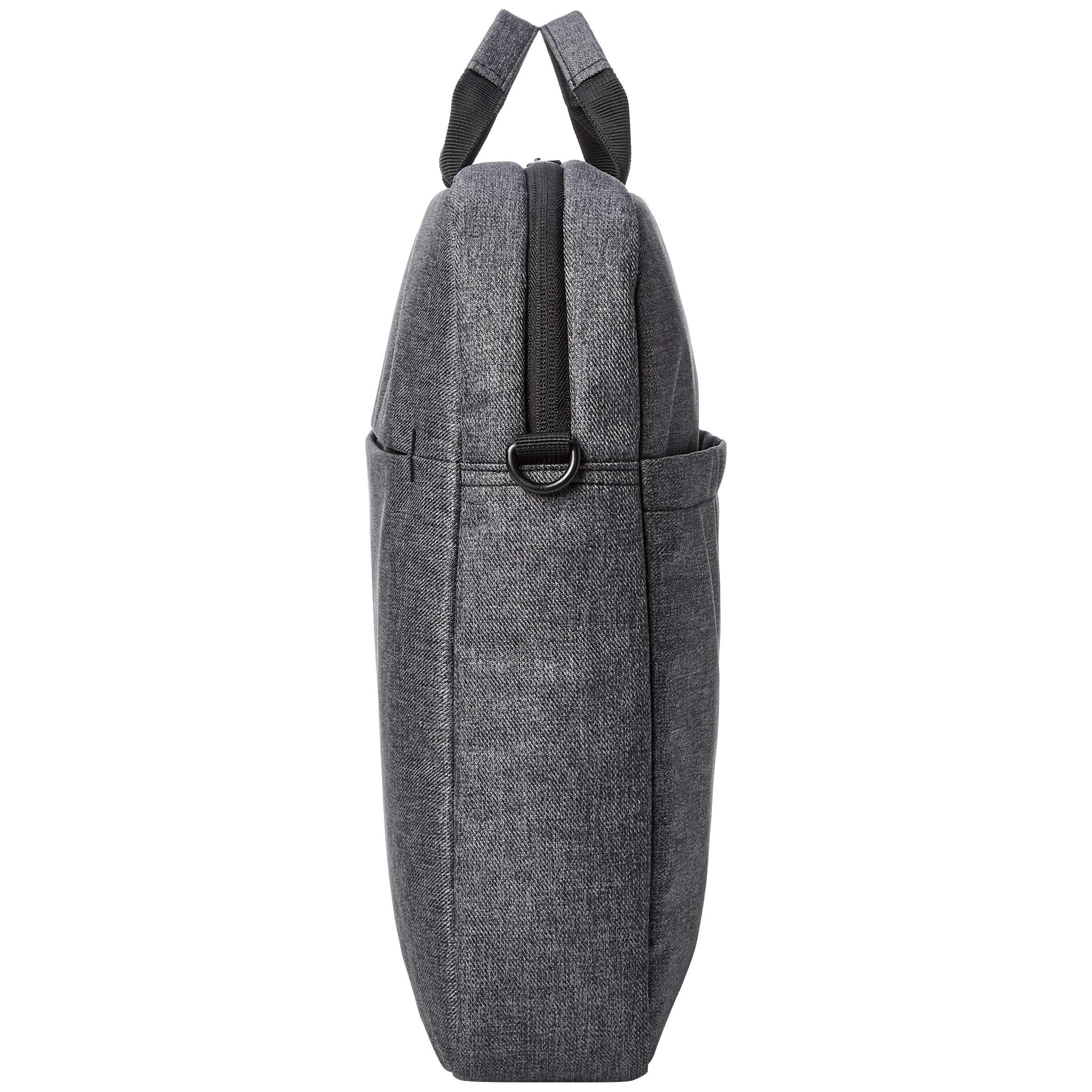AmazonBasics Urban Laptop and Tablet Case Bag, 17 Inch, Grey by AmazonBasics (Image #4)